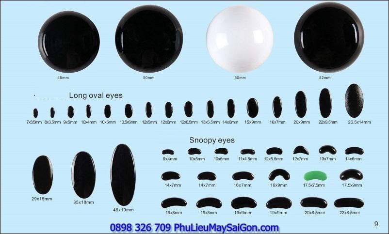 Mắt búp bê SGA MGB104