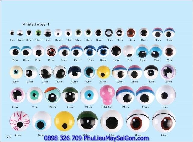 Mắt thú nhồi bông SGA MGB120