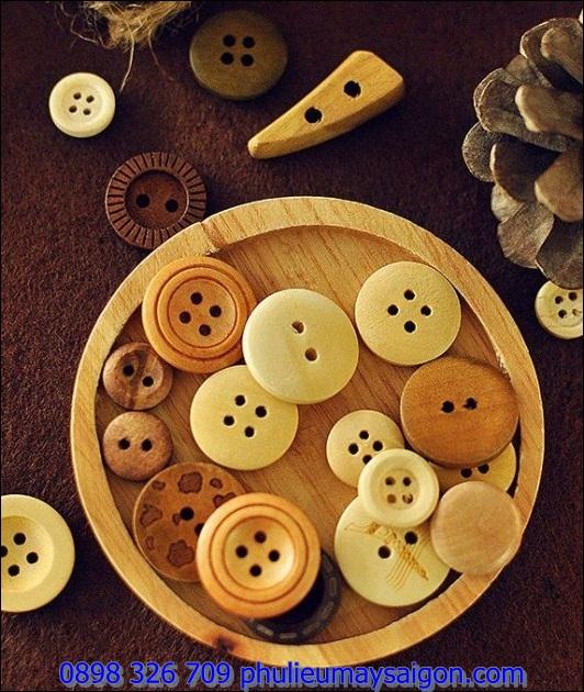 Nút áo bằng gỗ NG107