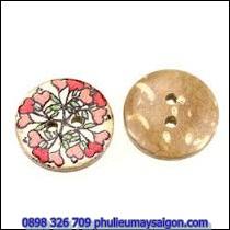 Nút gỗ tròn NG132